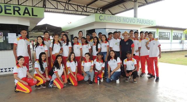 Alunos de Rorainópolis visitam o Campus Novo Paraíso