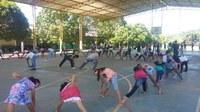 Alunos do IFRR-CNP promovem Rua de Lazer em São João da Baliza