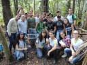Alunos do Novo Paraíso e Uerr iniciam coleta de espécies florestais em trilha ecológica