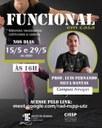 Aula de funcional organizada pela CISS do Campus Amajari ocorre nesta sexta-feira, 15