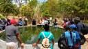 Alunos de EAD do IFRR Amajari visitam sítio de produção biodinâmica