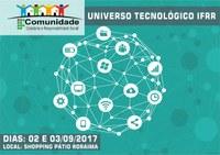 UNIVERSO TECNOLÓGICO IFRR   –  Divulgada a programação do IF Comunidade