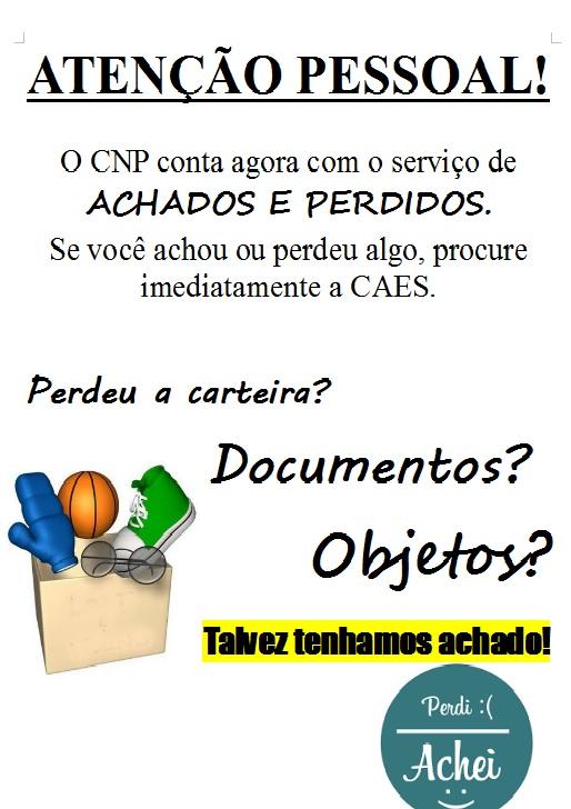 Campus Novo Paraíso cria serviço de achados e perdidos