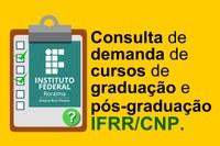 Campus Novo Paraíso realiza consulta pública on-line sobre cursos superiores de interesse da comunidade