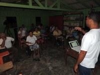Curso de Agricultura Familiar na vicinal 4, em caroebe
