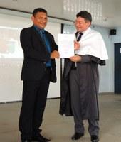 Diretor-geral do Campus Novo Paraíso toma posse para o segundo mandato