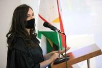 Egressa toma posse como diretora-geral do Campus Novo Paraíso