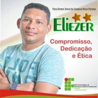 Eliezer Nunes é reeleito diretor-geral do Campus Novo Paraíso