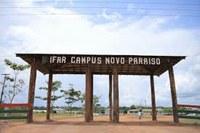Escala do mês de Janeiro dos servidores em atividade presencial do Campus Novo Paraíso