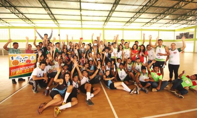 JOGOS INTERCAMPI – Encerrada etapa Campus Novo Paraíso