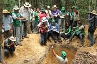 84 pesquisadores participam de análise de solos no IFRR/Câmpus Novo Paraíso