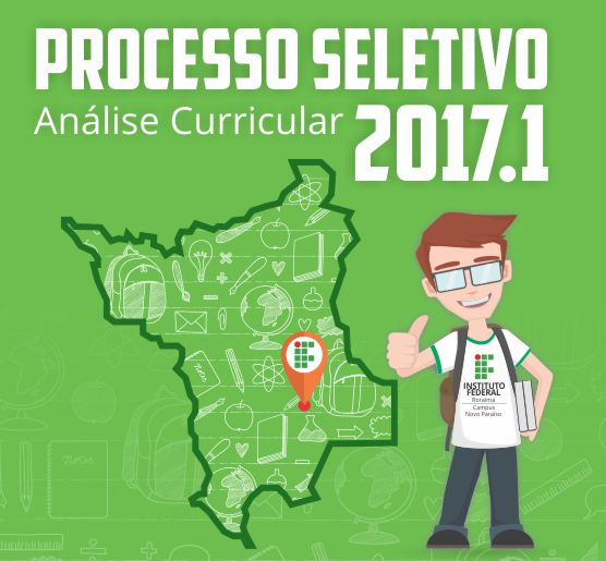 Lançado edital para o Seletivo 2017 do  Campus Novo Paraíso