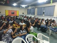 Alunos debatem, no Cine IF, sobre bullying