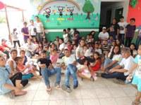 Alunos do CNP entregam brinquedos a crianças de escola infantil em São João da Baliza