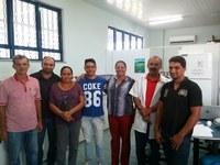 Alunos do Mestrado em Agroecologia, ofertado em parceria –  Uerr, IFRR e Embrapa –, participam da primeira aula em laboratório no CNP