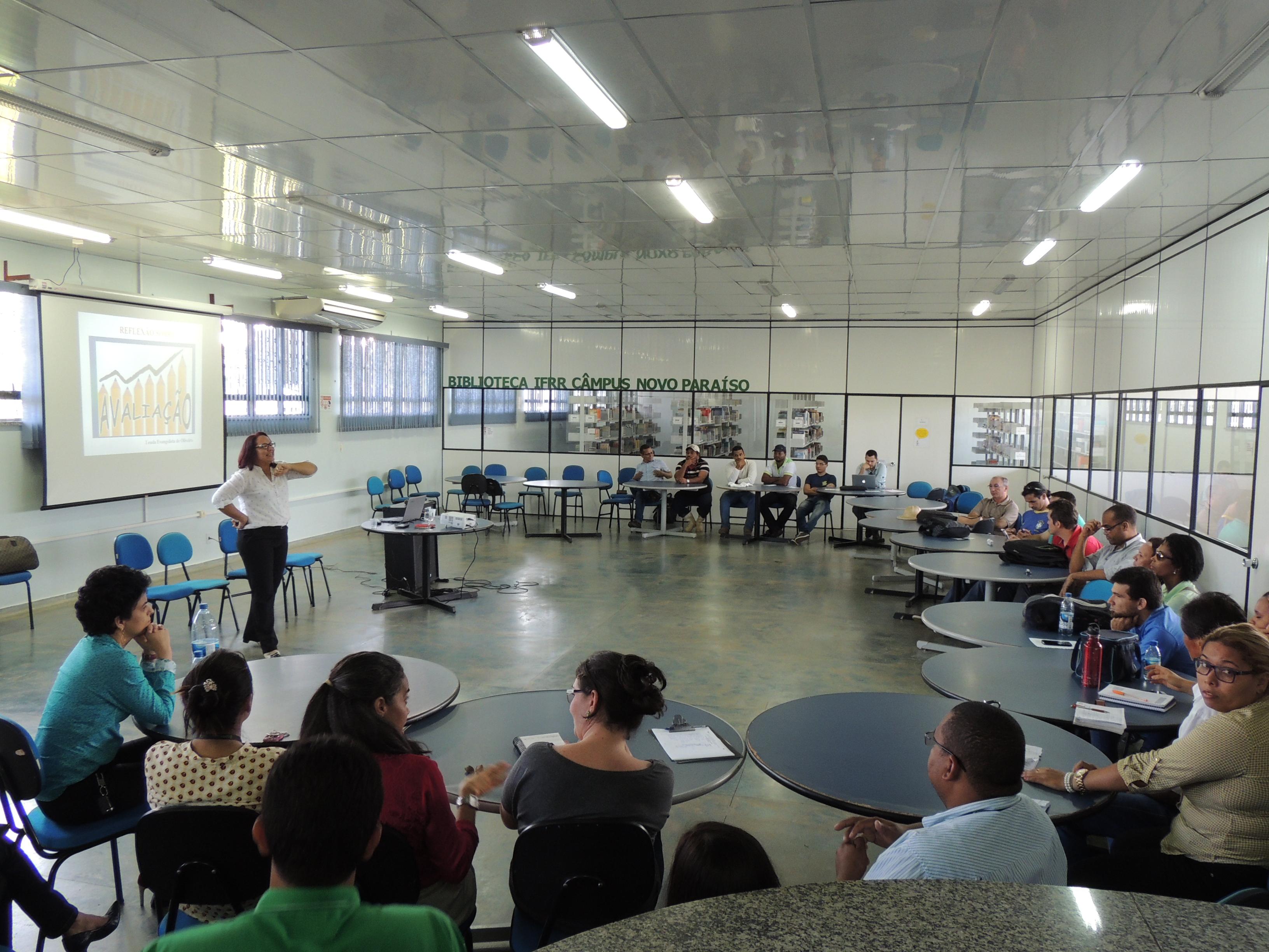 Câmpus Novo Paraíso realiza segundo encontro pedagógico de 2015