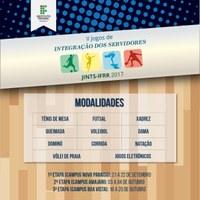 Campus Novo Paraíso recebe servidores-atletas para a primeira etapa dos Jints