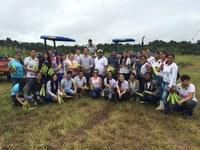 Colheita de milho no Câmpus Novo Paraíso abre as comemorações dos 22 anos do IF em Roraima