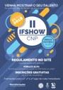 Campus Novo Paraíso realizará  II IFShow no 1.º dia do VII Forint