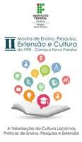 II Mostra de Ensino, Pesquisa, Extensão e Cultura do CNP será realizada nesta quarta, dia 7