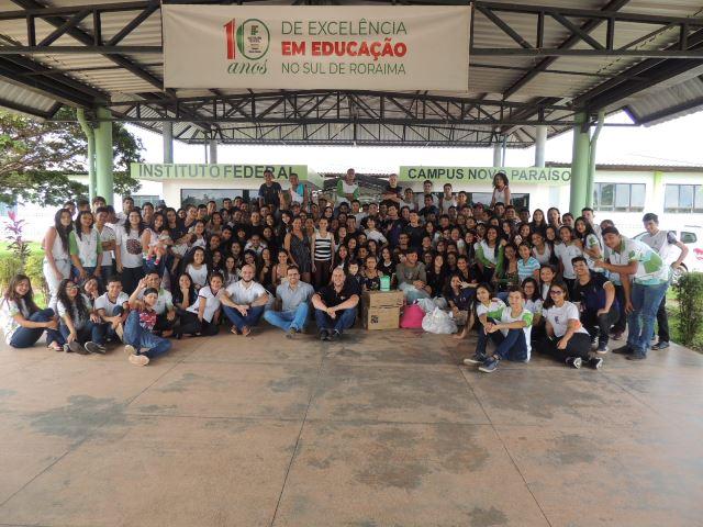 Projeto de extensão desenvolve ação com famílias venezuelanas no sul do estado