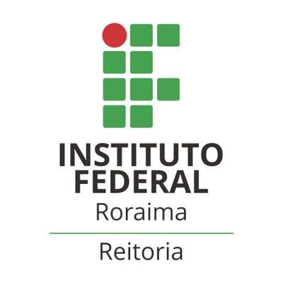 Logotipo IFRR Reitoria – Aplicação vertical