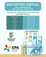 CPA promove encontros virtuais para divulgar resultados da Autoavaliação Institucional 2019