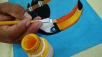 Artesão de Pintura em Tecido