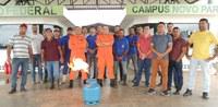 Servidores do CNP recebem treinamento sobre brigada de incêndio